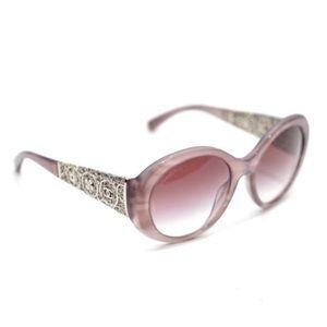 Chanel Filagree Bijoux Oval 5262 Mauve Sunglasses